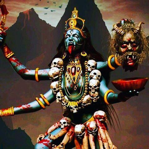 Hd Knife Wallpaper 10 Facts About Angry Indian Goddess Maa Kali Stillunfold