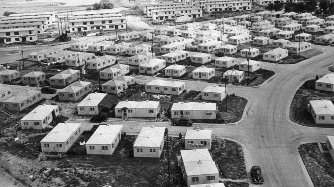 Veterans Village, Courtesy of Special Collections and University Archives at OSU Edmon Low Library