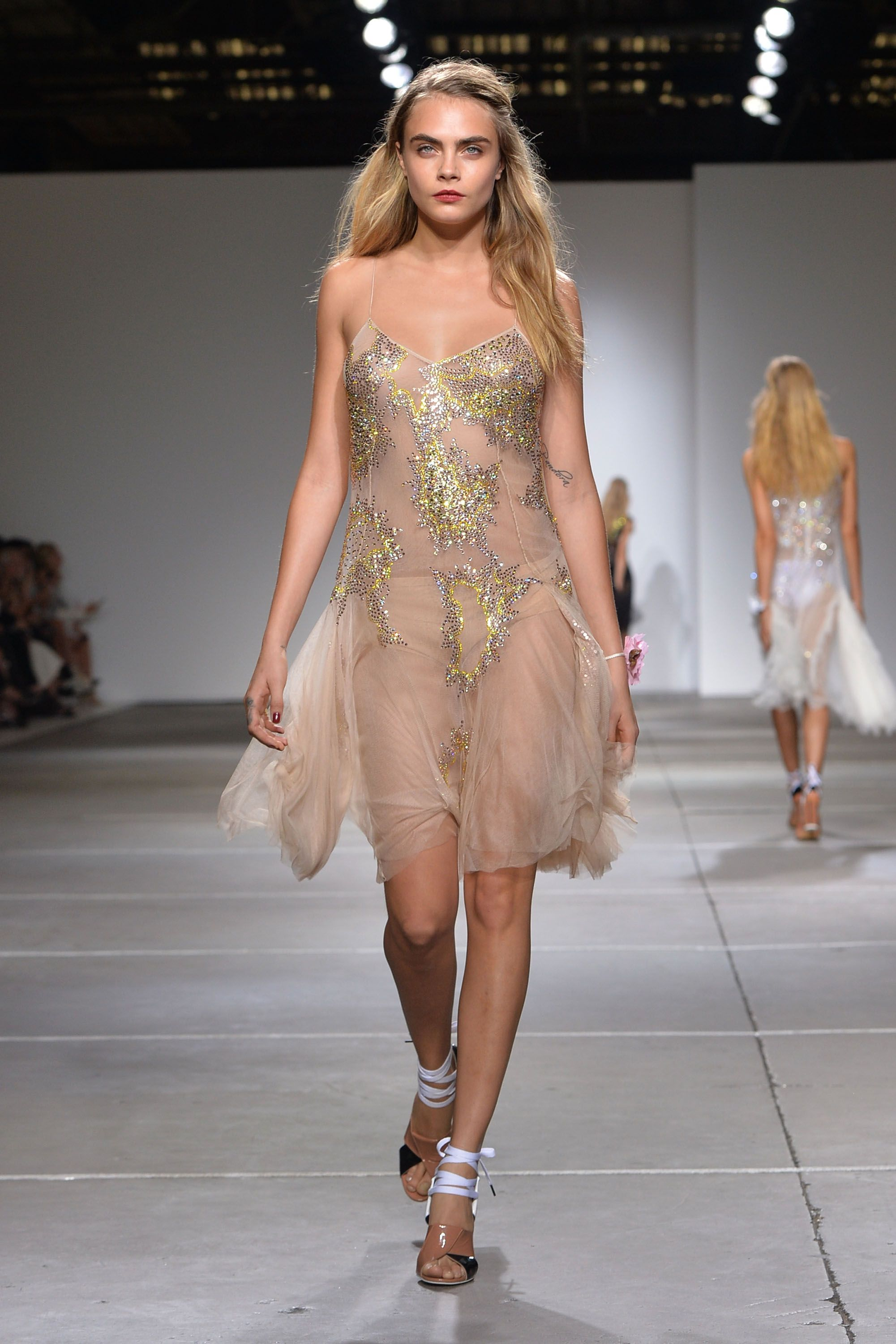 Sommermode 2015 Frauen London Fashion Week Sommermode 2015 Stilpalast