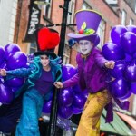 Best stilt walkers entertainers in Ireland perform street theatre, spectacle and circus to audiences in Irish festival and corporate event all over Ireland.
