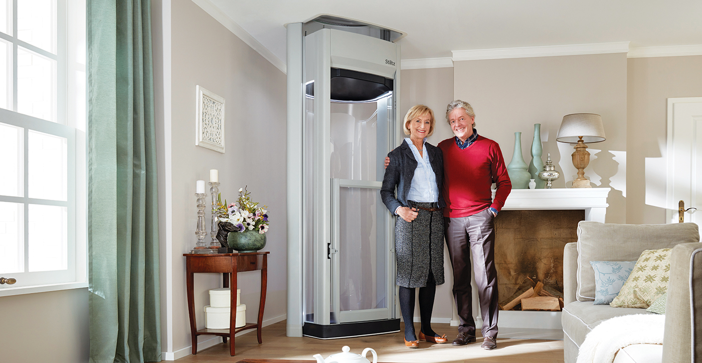 Domestic Garage Car Lift Home Elevators And Residential Elevators From Stiltz Home Lifts