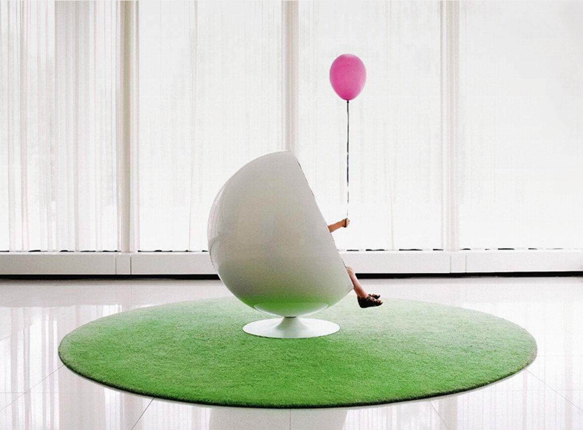 Ball Sessel Designikone Ball Chair Stilwerk News