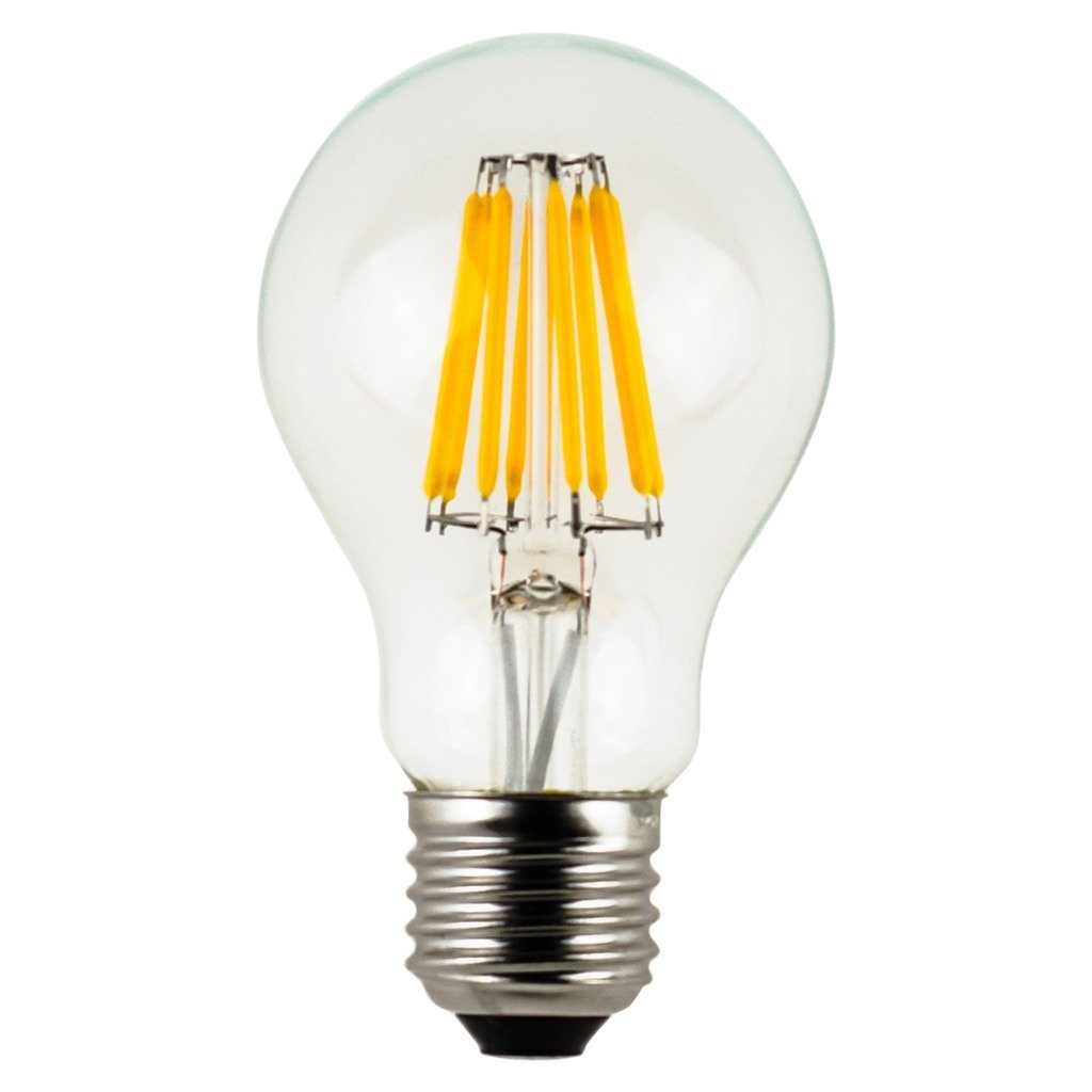 E14 8w 6500k Λάμπα Led Filament A60 8w E27 Dimmable 8 σειρές