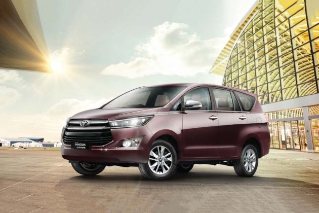 Toyota Innova Crysta Price Images Review Mileage Specs