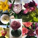 Omgivet af smukke blomster fra gsterne til min datters fdselsdaghellip