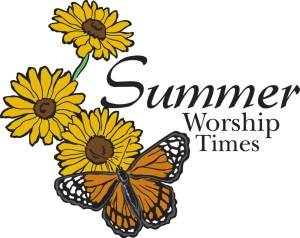 Summer Worship Scedule at St James church