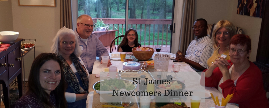 Newcomers Dinner Group Picture