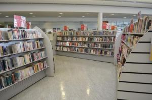 The library provides free access to books, CDs, DVDs and more
