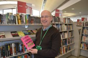 Chris Millington loves the library's flair