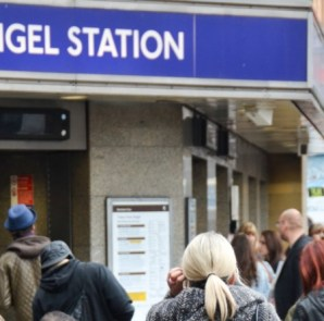 Angel Tube Station. Photo credit: Anna Bruce