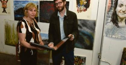 Jon Martyn and Tania Kaczinski, the New Art Studio