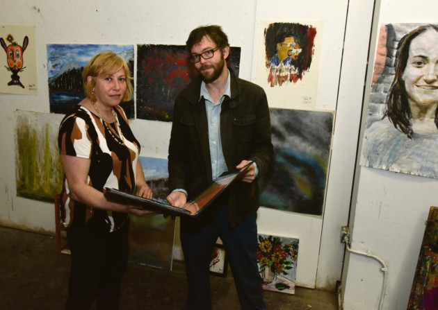Jon Martyn and Tania Kaczinski, the New Art Studio