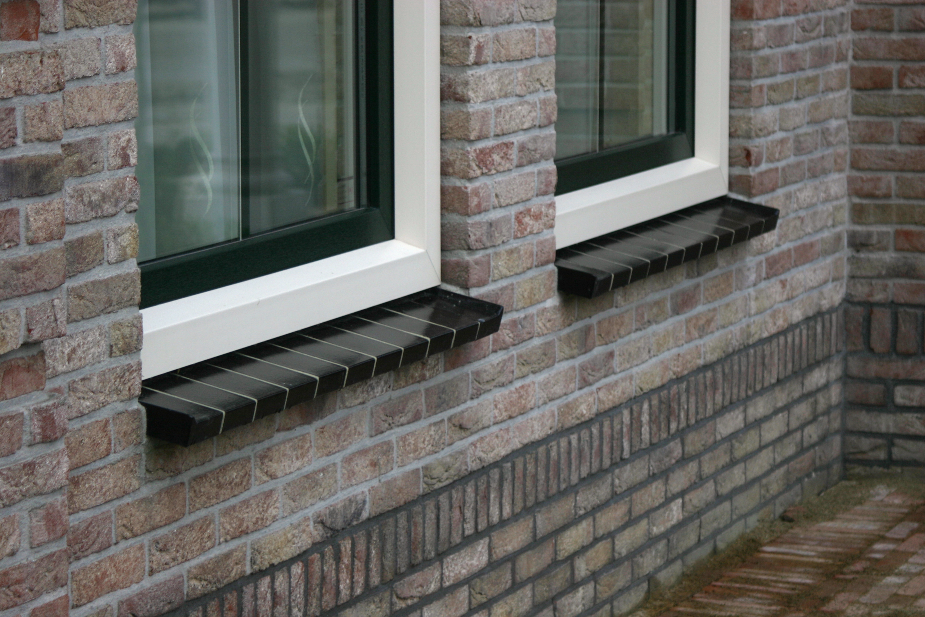 Klinkers Antraciet Window Sill Brick - St. Joris - St. Joris