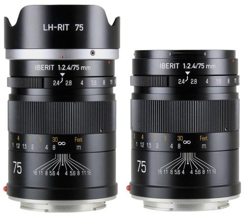 HandeVision IBERIT (イベリット) 75mm f/2.4 for SONY E ソニーE(フルサイズ)ブラック