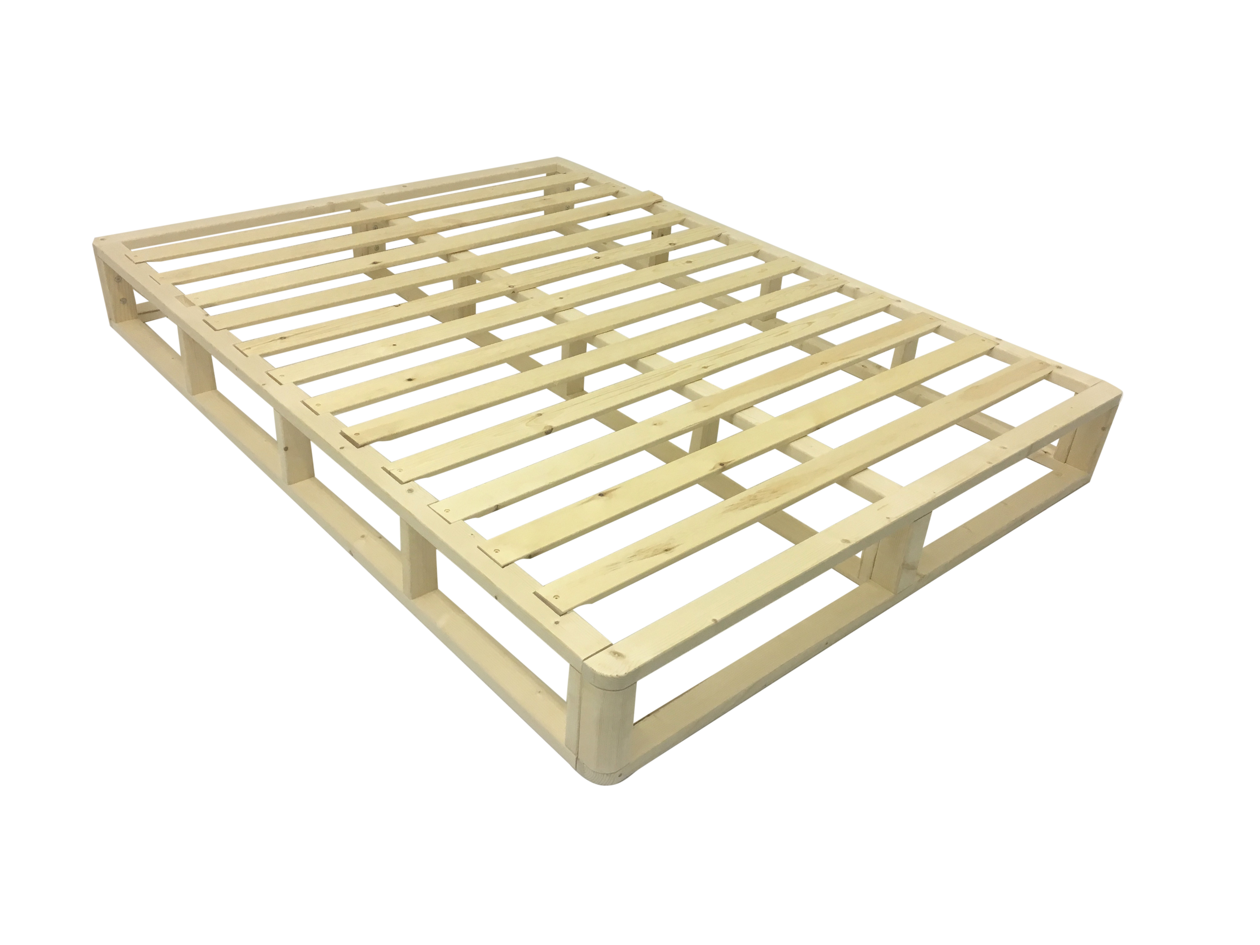 Box Spring Quick Easy To Assemble Foundation Box Spring Split Queen