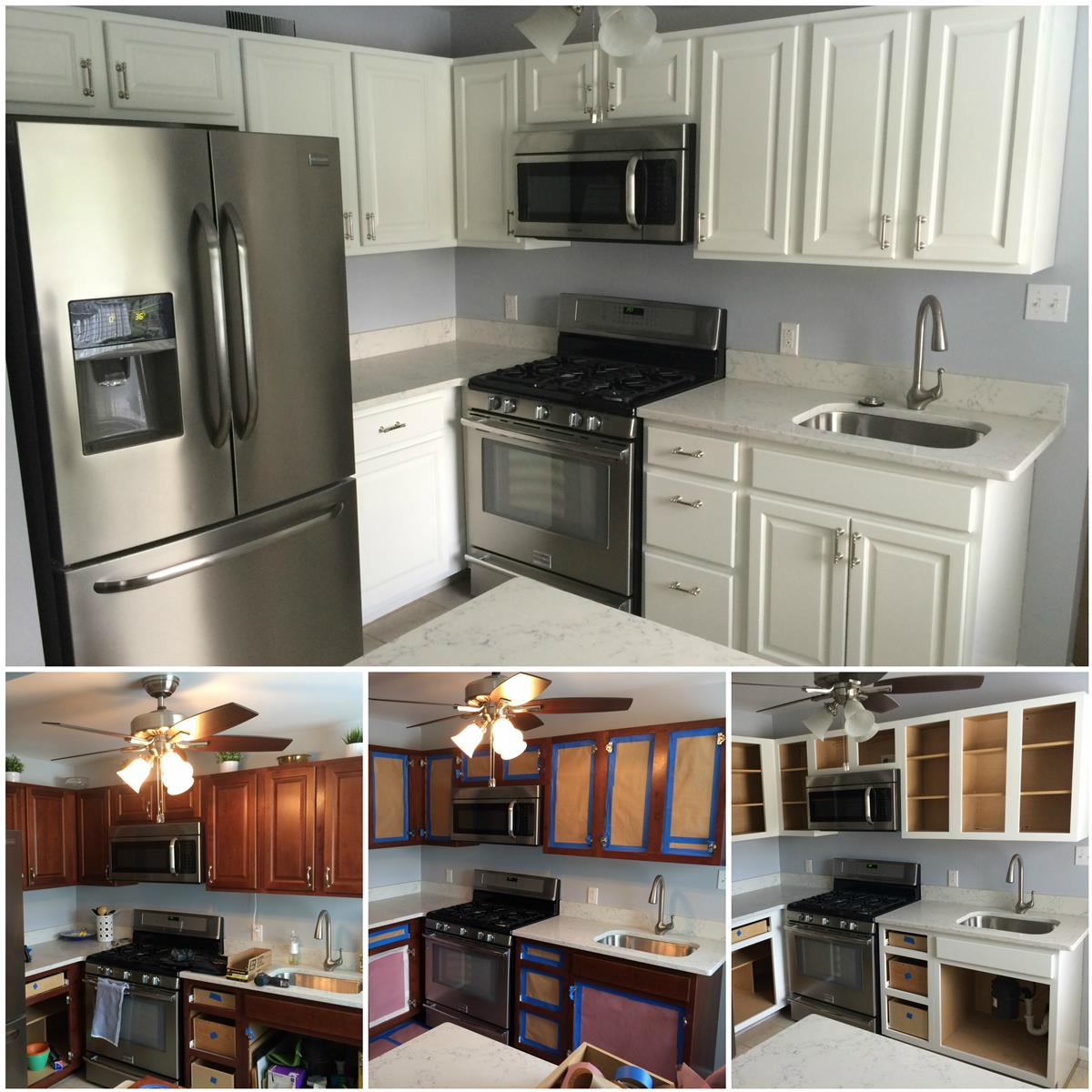 Can Kitchen Cabinets Be Refinished Cabinet Refinishing Kennedy Painting