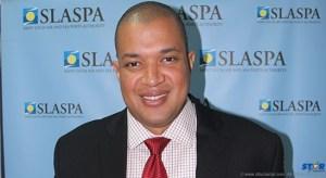 General Manager of SLASPA Keegan Cox.