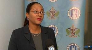 Medical Officer of Health Dr. Sharon Belmar-George.