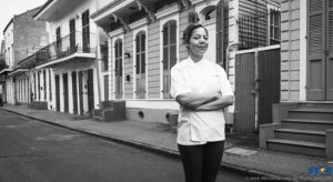 Chef Nina Compton moved to New Orleans earlier this year to open her first restaurant.