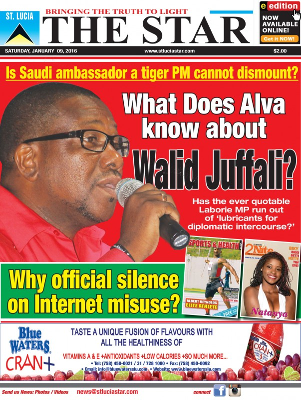 The STAR Newspaper Saturday 9th January, 2016