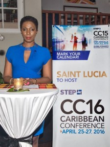 Conference chairperson Natalie Augustin.