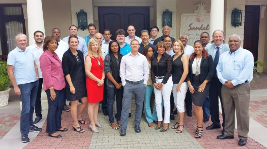 Sandals Resorts International and CGTI in Jamaica.
