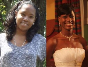 (Left) The late Bianca Felix whose death last week was ruled a suicide. (Right) Alisha Hunte met her untimely death a few years ago in Trouya the same community where Felix resided.