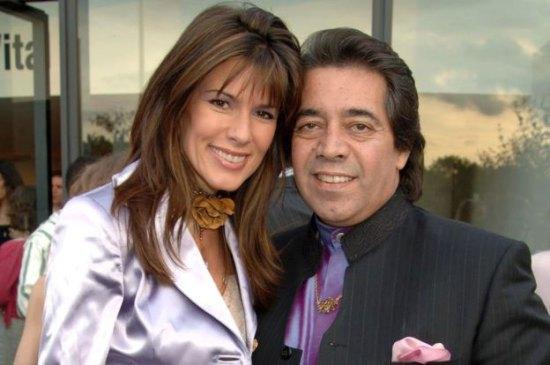 Sheikh Walid Juffali with his former wife Christina Estrada.