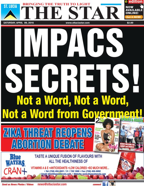 The STAR Newspaper for Saturday April 9th, 2016