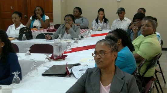 Some of the stakeholders attending last week's consultation.