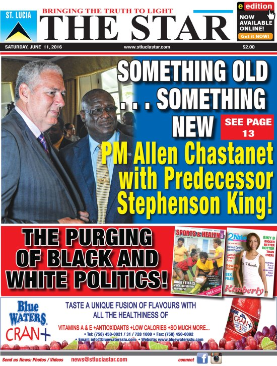 The STAR Newspaper for Saturday June 11th, 2016