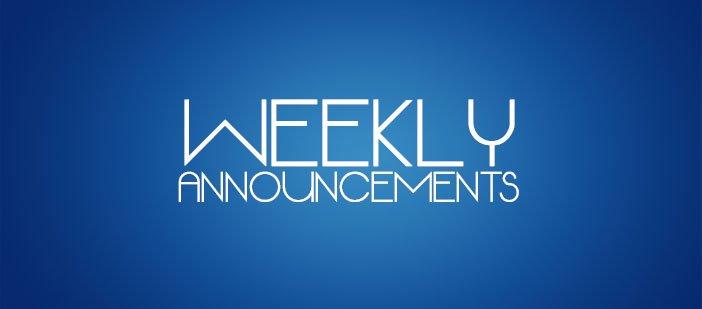 Announcements for 4/29 St Luke United Methodist Church - photo announcements