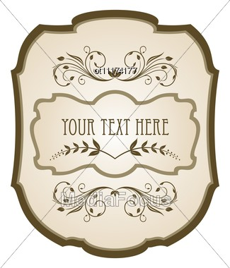 Stock Photo Vintage Label Wine - Image OT11174177 - Vintage Label