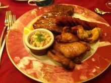 レオパレスリゾートの夕食