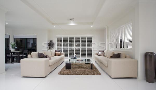 Luxury Home Living Room Interior Stock Photo © Epstock (#149642