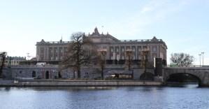 парламент в Стокгольме
