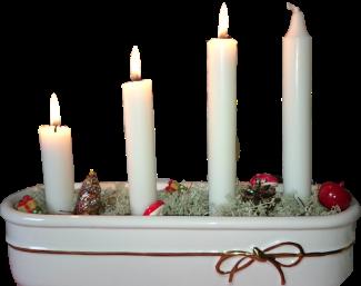 шведские рождественские свечи