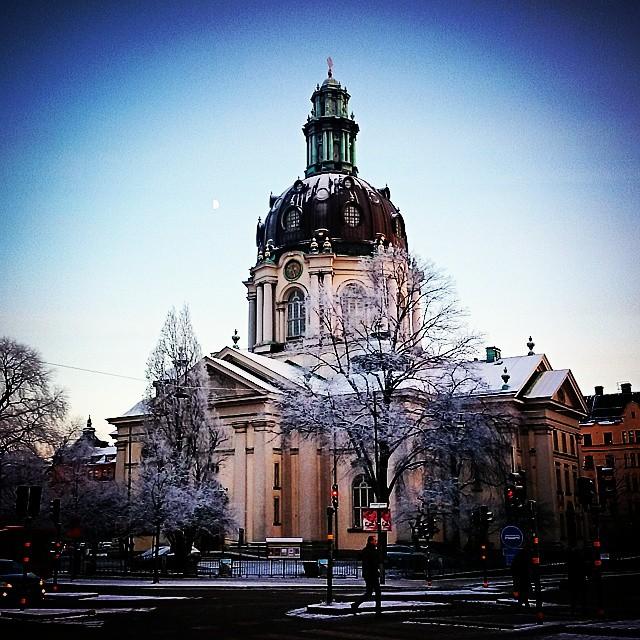церковь Гюстава Васы в Стокгольме, Швеция