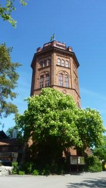 башня в музей Скансен в Стокгольме
