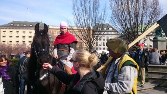 День средневековья в стокгольме в апреле