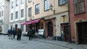 kaffellit ресторан в старом городе стокгольма с русским меню_