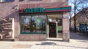 магазин где продаются каточки для аренды велосипеда в Стокгольме 7 elleven
