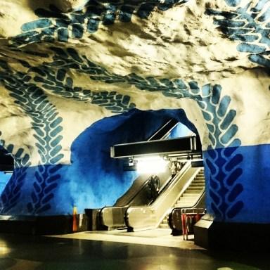 центральная станция метро Стокгольма