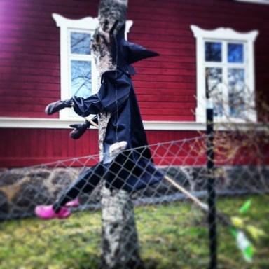 Вальпургиева ночь и шведская ведьма в Стокгольме