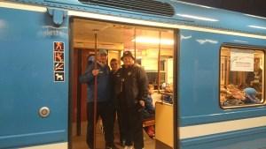 динамо в метро после экскурсии по стокгольму