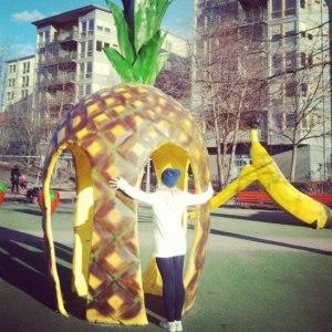 фруктовый парк для детей в Стокгольме