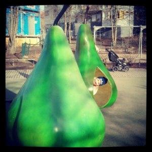 ягодный парк для детей в Стокгольме