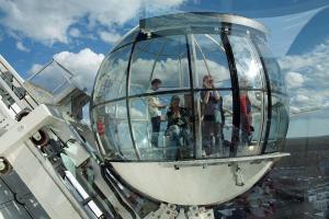 достопримечательность смотровая площадка Глобен в Стокгольме