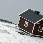 шведский домик установленный на арене Глобен в Стокгольме