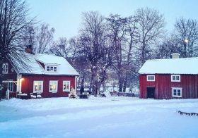 Январь 2016 — снежная погода в Стокгольме